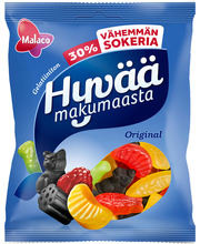 Ассорти жевательных конфет Hyvää Makumaasta Original (30% меньше сахара) 160гр