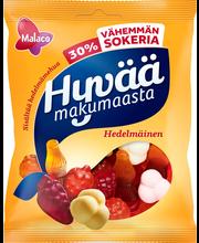 Ассорти жевательных фруктово-зефирных конфет Malaco Hyvää Makumaasta -30% сахара,160гр