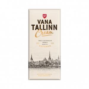 Темный шоколад Kalev Vana Tallinn Cream 100гр