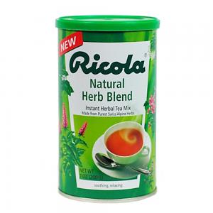 Гранулированный травяной чай Ricola Herb Tea 200гр