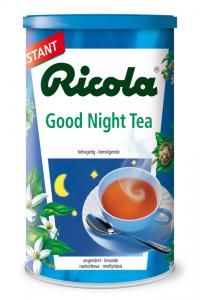 Гранулированный ночной, успокаивающий травяной чай Ricola Good Night Tea 200гр