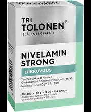 Витамины для суставов с эстрактами имбиря и куркумы Tri Tolonen Nivelamin Strong 30таб.