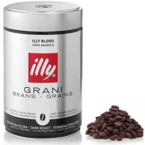 Кофе в зернах Illy Grani Beans Grains (темная обжарка) 250гр
