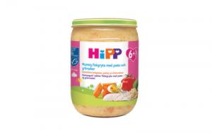 Ограническое детское питание (индейка, макароны, овощи) HiPP Luomu Nuudeli- ja kalkkuna 6+мес. 190гр