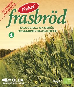 Хлебцы органический кукурузные, без глютена Oldana 100гр