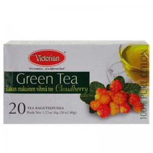 Чай зеленый с морошкой Victorian 20пак.