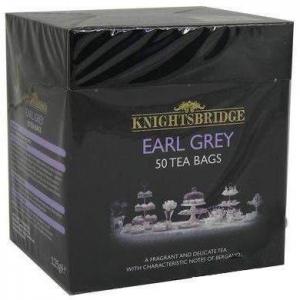 Чай черный с бергамотом Knightsbridge earl grey 50шт.