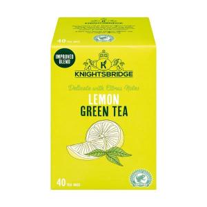 Чай зеленый с лимоном Knightsbridge Green Tea with Lemon 40пак.
