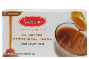 Черный чай Victorian (карамель) 20пак.