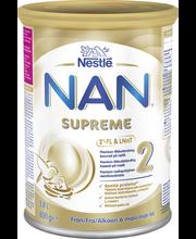 Премиальная молочная смесь на основе молока Nestlé Nan Supreme 2 (6-12мес.) 800гр