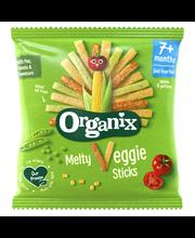 Ассорти кукурузно-рисовых органических палочек (с 7 месяцев ) Organix Melty Veggie Sticks 15гр