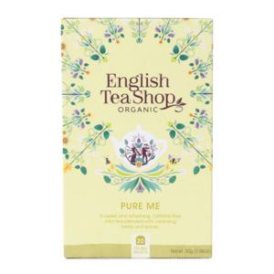 """Чай органический, травяной """"Очищающий"""" English Tea Shop Pure me 20пак."""
