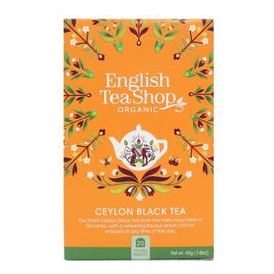 Чай органический цейлонский черный English Tea Shop 20пак.
