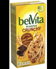 Печенье цельнозерновое с кусочками шоколада Белвита, Belvita Crunchy Choc Chips 300гр