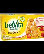 Цельнозерновое печенье с начинкой ягоды-йогурт Belvita Marja-Jogurtti 253гр