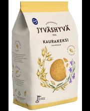 Печенье цельнозерновое овсяное Jyväshyvä Kaurakeksi 350гр