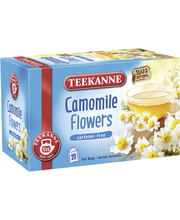Чай с ромашкой Teekanne Camomile Flowers Herbal 20пак.