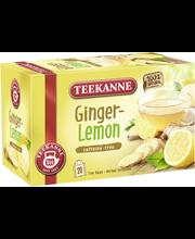 Чай имбирь-лимон Teekanne Ginger Lemon Herbal Infusion 20пак.