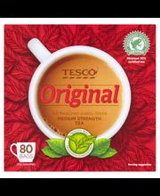 Чай черный Tesco Original tee 80пак.
