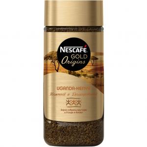 Растворимый кофе Nescafe Gold Origins Uganda Keniya 100гр