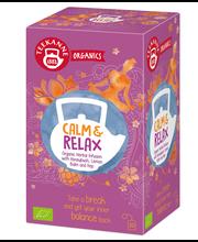 "Органический травяной чай ""Релакс"" Teekanne Calm & Relax Herbal 20пак."