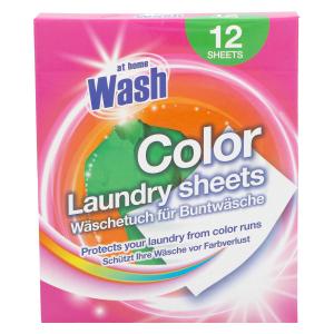 Салфетки для сохранения цвета белья At Home Wash Colore 12шт.
