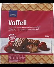 Вафли в шоколаде с малиновой начинкой Rainbow Voffeli raspberry 225гр