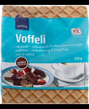 Вафли в шоколаде с шоколадной начинкой Rainbow Voffeli double chocolate 225гр