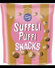 Вафли кукурузные сладкие в молочном шоколаде Fazer Suffeli Puffi Snacks 180гр