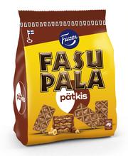 Вафли в шоколаде с начинкой шоколад-мята Fazer Fasupala Pätkis 215гр