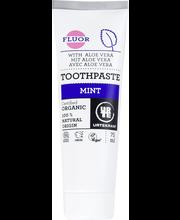 Органическая мятная зубная паста без фтора Urtekram Mint 75мл