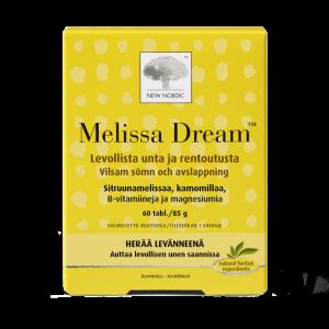 Витаминный комплекс для нервной системы и хорошего сна New Nordic Melissa Dream 60таб.