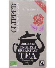 Чай органический черный Clipper musta tee luomu 20пак.