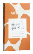 Темный веганский шоколад с апельсином, без глютена и молока Dammenberg Moomin  70гр