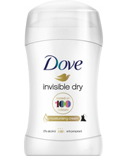 Антиперспирант-карандаш Dove Invisible Dry deodorantti stick 40мл