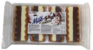 Печенье с молочно-шоколадной начинкой Milk-Shake Choco 200гр
