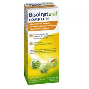 Натуральный сироп от кашля Bisolnatural Complete 133мл