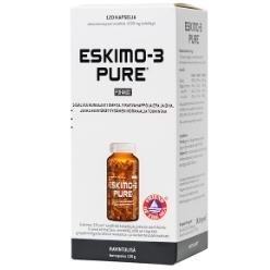 Чистый рыбий жир с высоким содержанием омега-3 жирных кислот Eskimo-3 PURE 120кап.