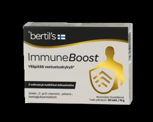Витаминный комплекс для повышения иммунитета bertil's Immune Boost 30таб.