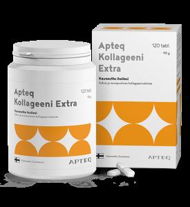 Коллаген Экстра (рыбный)+ С, биотин, медь  Apteq Collagen Extra 120кап.