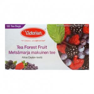 Черный чай Victorian лесные ягоды  100пак