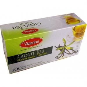 Зеленый чай Victorian ваниль 100пак
