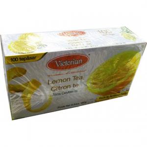 Черный чай Victorian лимон 100пак