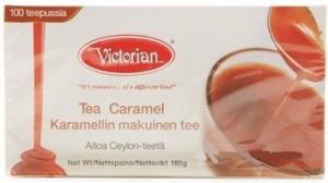Черный чай Victorian карамель 100пак