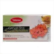 Зеленый чай Victorian облепиха 100пак