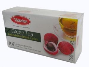 Зеленый чай Victorian личи 100пак