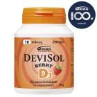 Жевательные таблетки D3 Devisol (клубника) 10мкг, 200табл