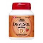 Жевательные таблетки D3 Devisol (клубника) 20мкг, 200табл