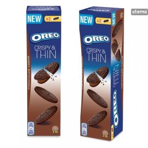 Печенье OREO Crispy & Thin Chocolate Creme 96гр.