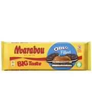 Молочный шоколад с кусочками печенья Marabou Oreo 320гр